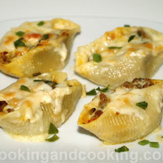 Stuffed Shells With Ground Beef Recipes.