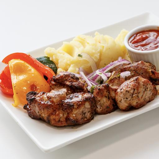 Pork Shashlik Meal