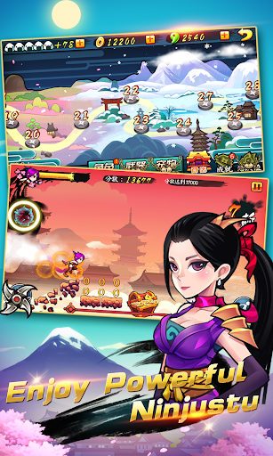 Ninja Rush: Super Running adventure - screenshot