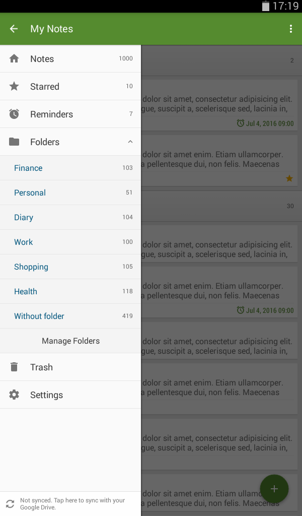 My Notes - Notepad Screenshot 17