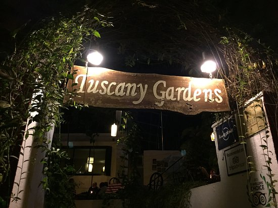 tuscany Gardern - Most romantic Dinner in Goa - Honeymoon