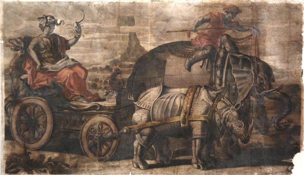 Museu de Lamego destaca em maio gravura que reproduz rinoceronte de Dürer