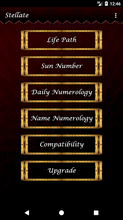 Stellate Life Path Number Numerology – (Android Aplikace