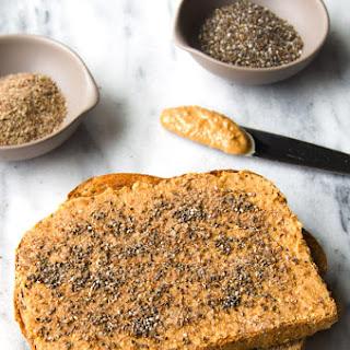 Seedy Peanut Butter Toast