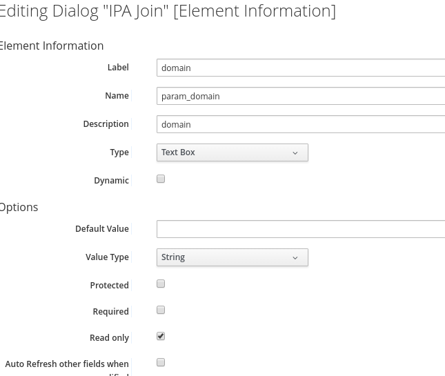 Red hat cloudforms and ansible tower in the real world item services catalogs catalog items of the ansible tower type selecting the newly created ipa join job template from the dialog drop down yelopaper Choice Image
