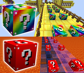 Mod Lucky Block Race Pro for MCPE - náhled