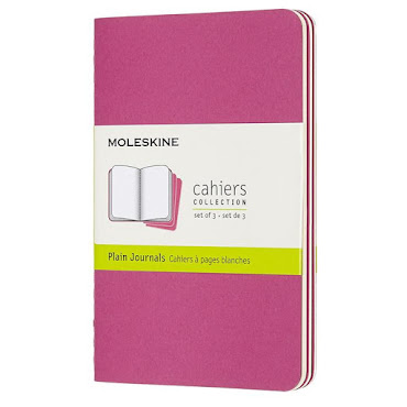 Cahier Journal Pocket Pink