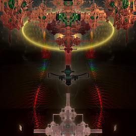 A Trip Through The Jazz by Rick Eskridge - Illustration Sci Fi & Fantasy ( fantasy, jwildfire, mb3d, fractal, twisted brush )