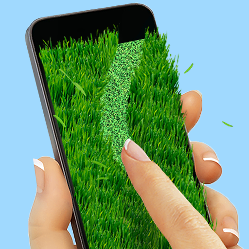 Lawnmower: writing on grass (game)
