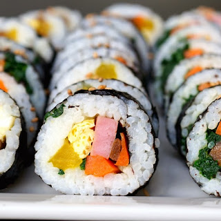 Kimbap - 김밥 Recipe