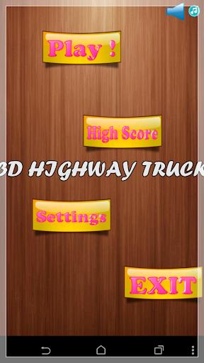 3D HIGHWAY TRUCK