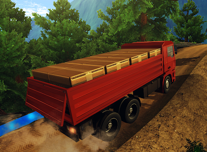 Hill Off-Road Truck Simulator 3D - náhled