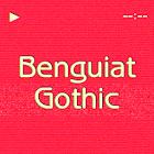 Benguiat Gothic FlipFont icon