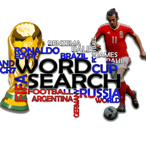 Word Search World Cup Russia 2018 Game