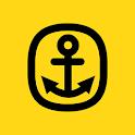 Gule Sider På Sjøen icon