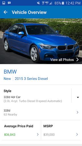 Edmunds Car Reviews & Prices Screenshot
