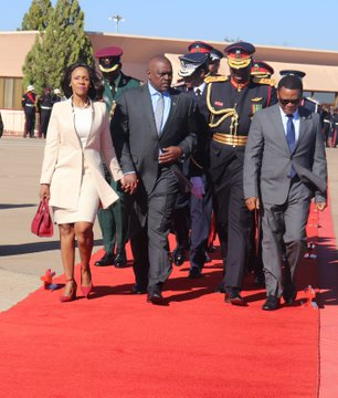 Super President Masisi Of Botswana Jets Into Kenya Today For State Beutiful Home Inspiration Ommitmahrainfo