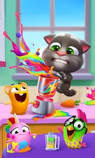 ApkMod1.Com My Talking Tom 2 v1.1.5.25 APK + MOD (Unlimited Money) for Android Casual Game