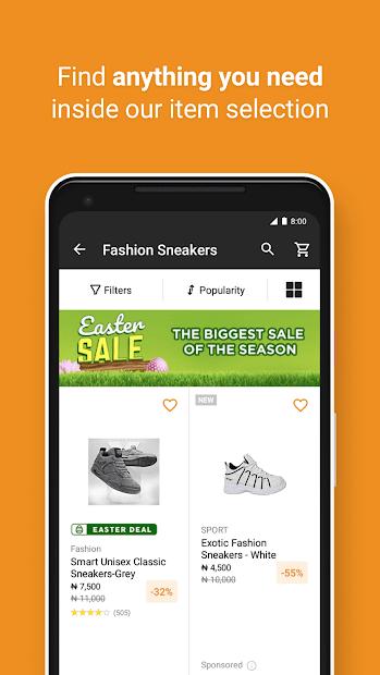 6c569ba120 JUMIA Online Shopping Android App Screenshot JUMIA Online Shopping Android  App Screenshot ...