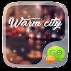 GO SMS WARM CITY THEME APK