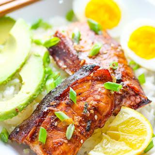 15-minutes Easy Teriyaki Salmon.