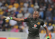 Itumeleng Khune of Kaizer Chiefs during the Absa Premiership match between Ajax Cape Town and Kaizer Chiefs at Cape Town Stadium on May 01, 2013 in Cape Town, South Africa.