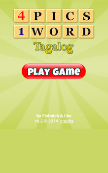 4 Pics 1 Word Tagalog