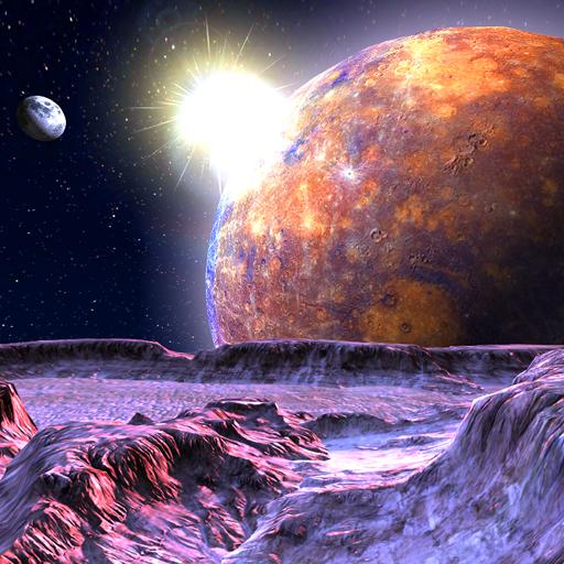 Planet X 3D Live Wallpaper