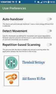 PowerProfiler & Energy-aware Network Selection - náhled