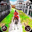 Street Horse Archer run - Dungeon Archer Escape icon