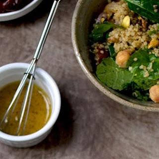 Quinoa Salad with Pistachios & Dates Recipe