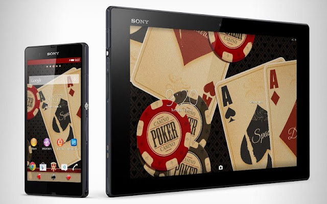 XPERIA™ Poker Theme - screenshot
