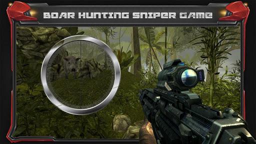 Wild Hunt - Pig Sniper Shooting screenshot 10