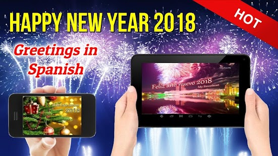 Šťastný nový rok přání pozdravy karty 2018 - náhled