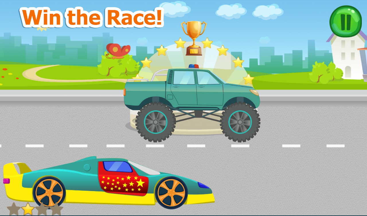 racing games for toddlers screenshot