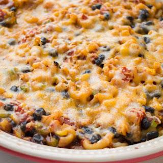 Meatless Cheesy Taco Casserole.