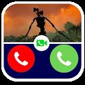 Fake Call Siren Head Prank Simulation Pro icon