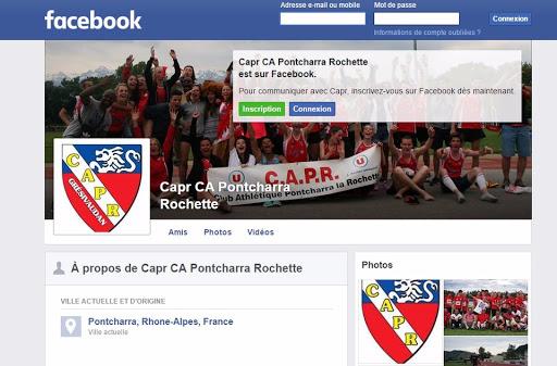 Facebook CAPR Grésivaudan