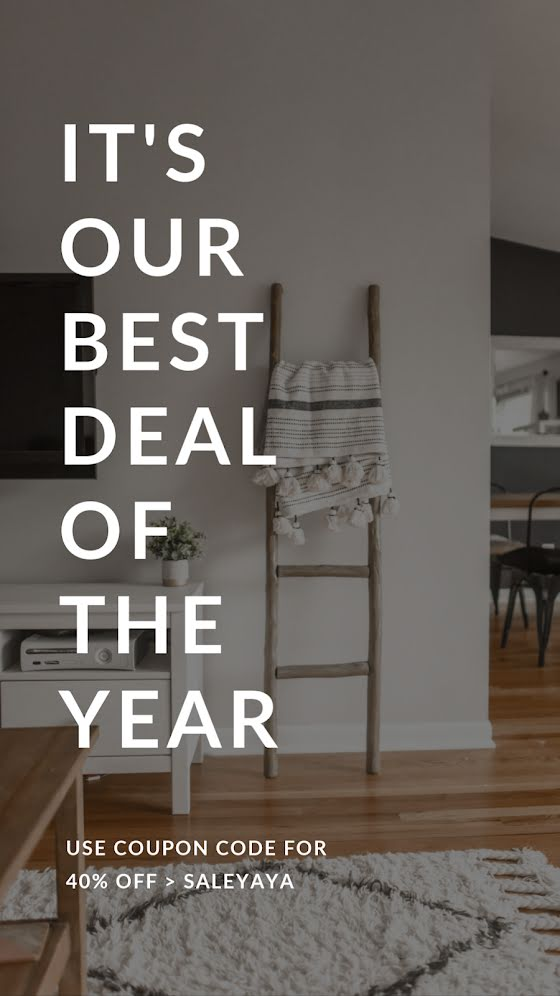 Our Best Deal of the Year - Facebook Story Template