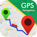 GPS Map Navigation - Driving Direction, Route Plan icon