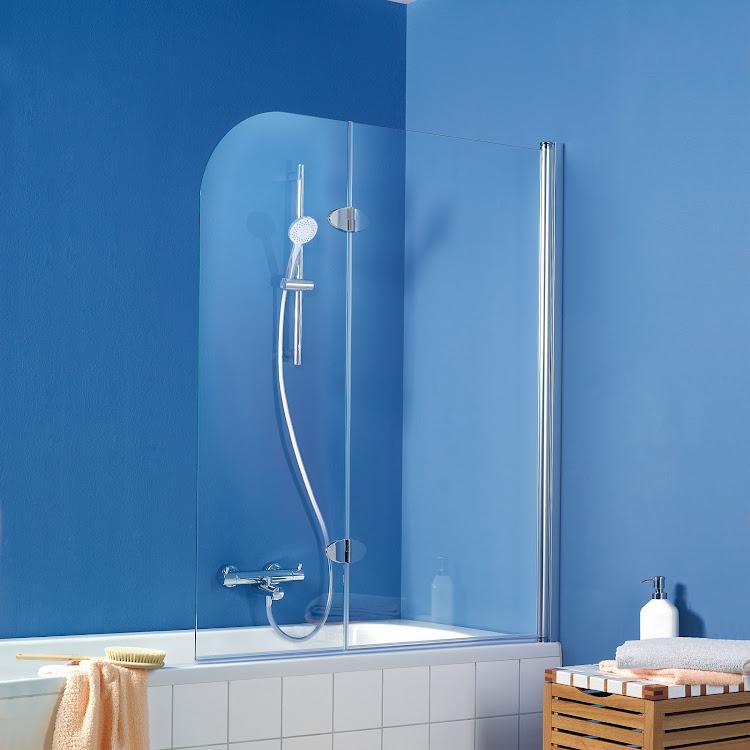 Duschkabinen_11 Exklusiv Badewannenaufsatz, 2-teilig