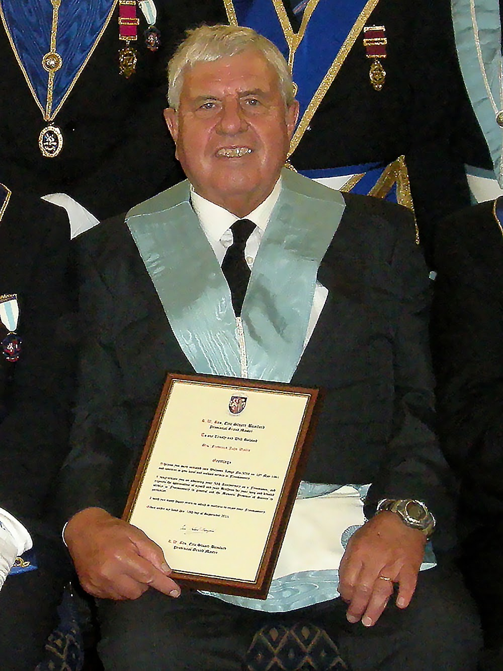 Fred Wallis - 50 Years In Freemasonry