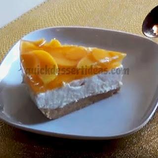 No Bake Peach Cheesecake Recipes