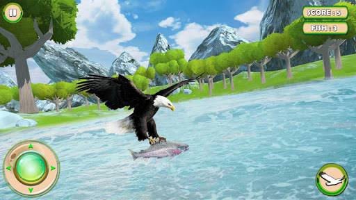 Golden Eagle Survival Simulator: Fish Hunting 3D 1.2 screenshots 2