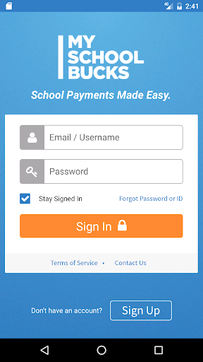 MySchoolBucks Screenshot