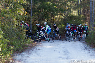 Photo: starting the singletrack