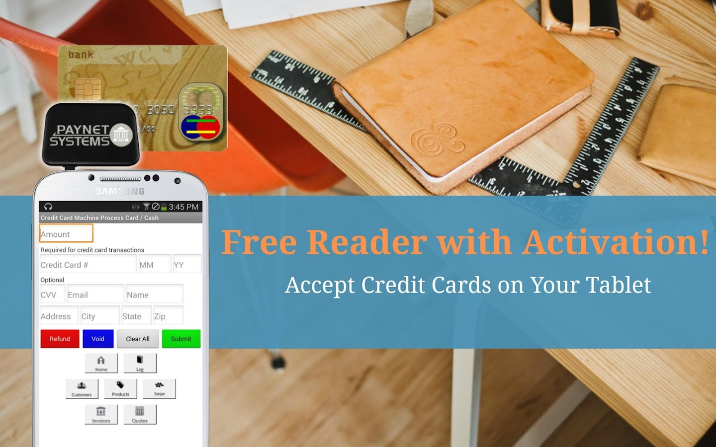 Credit Card Machine  Accept Screenshot