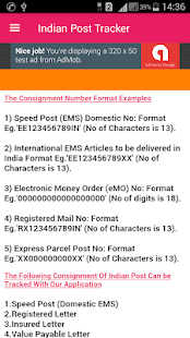 India Post Tracking / India Post Tracker screenshot