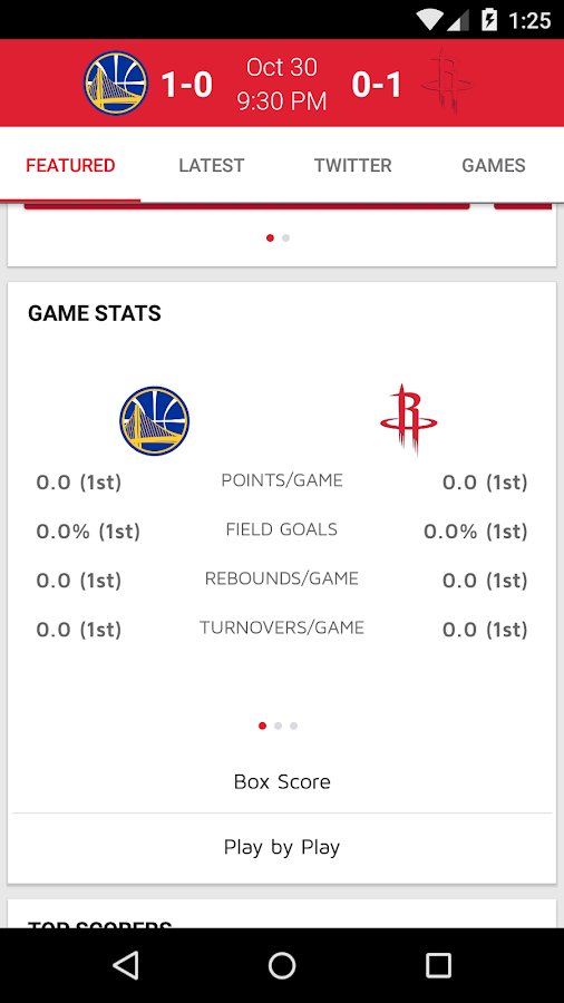 Houston Rockets- screenshot