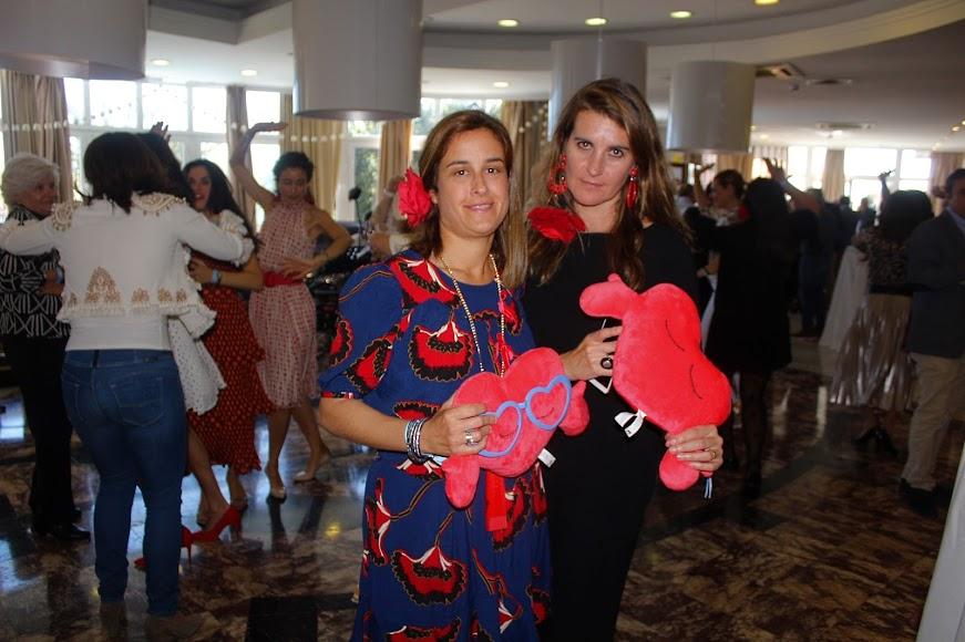 Cristina Sánchez Maldonado y Ana Maldonado, eventos, organizaron el II cóctel solidario.